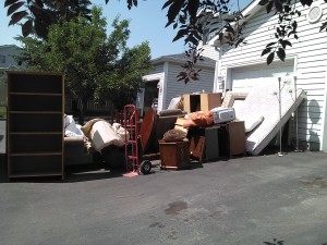 Junk removal calgary, sort your junk, donation pile